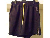 BLK Elk Vapor Gym Shorts. Black. Size 2XL