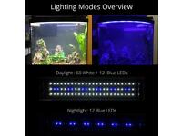 NICREW ClassicLED Aquarium Light, Fish Tank Light with Blue and White LEDs