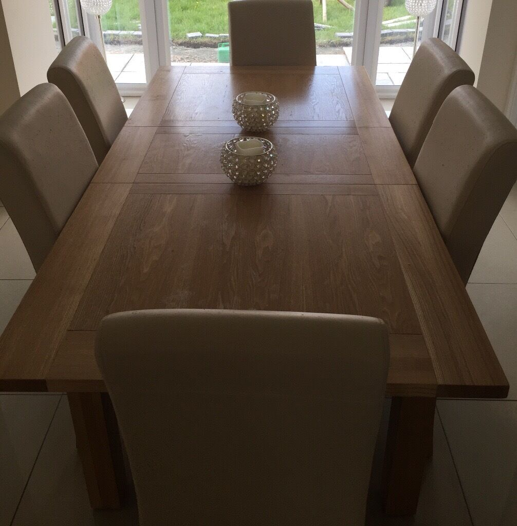 DFS Dining Table & 6 Chairs | in Hull, East Yorkshire ...