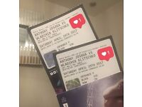 JOSHUA VS KLITSCHKO FIGHT - 4x TICKETS IN HAND