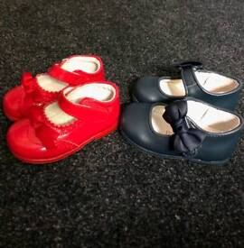 baby Spanish shows size 3