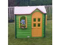 Little tikes plastic wendy house