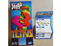 Tetris Jenga - Had barely any use [All pieces in box with guide]