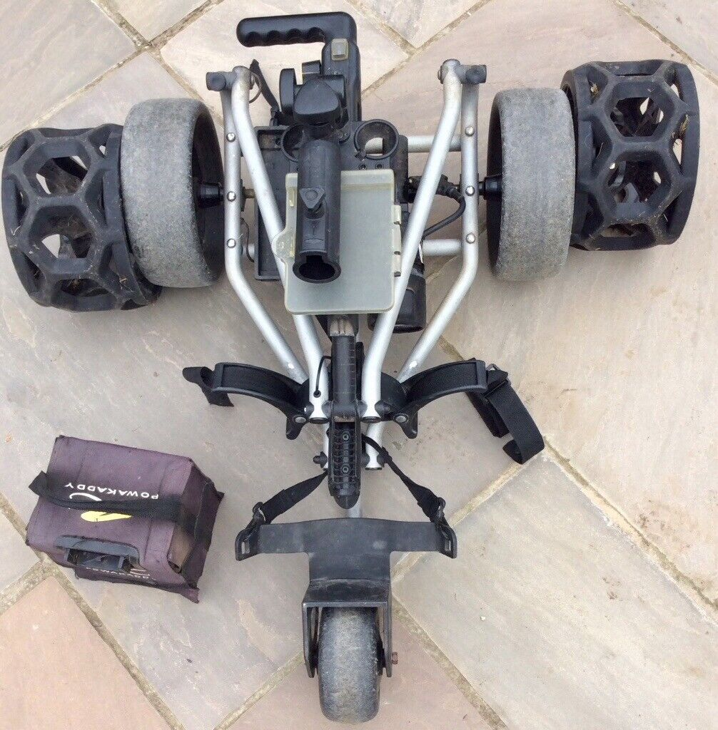 POWAKADDY FREEWAY ELECTRIC GOLF TROLLEY | in Mumbles, Swansea | Gumtree