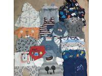 Baby Boys Clothes Bundle Age 3-6 Months