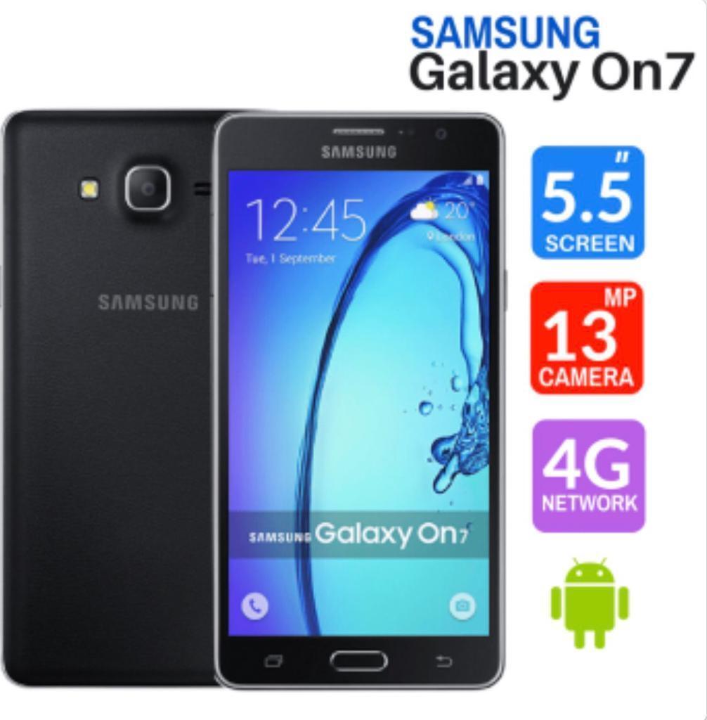 Brand New Samsung Galaxy On7 - Black- Unlocked