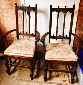 Ercol Carver Chairs REDUCED FOR QUICK SALE AS I NEED THE SPACE