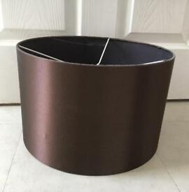 Ceiling Light Shade Dark Bronze/Brown Satin-look Large