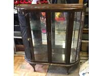 Glass display cabinet upcycle project