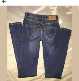 Size 8 river island jeans ! Mint condition