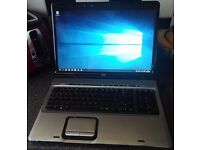 HP Pavilion DV9 laptop Nvidia graphics dv9500 windows 10 AMD HD 17""