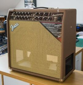 Fender Acoustasonic SFX11 80W Acoustic Guitar Amplifier in Mint Condition