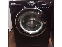 78 Hoover DYN8154D1BX 8kg 1500 Spin Black A+ Rated Washing Machine 1 YEAR GUARANTEE FREE DEL N FIT