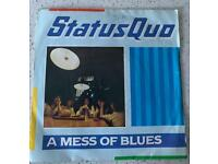 Status Quo A mess of blues 7 inch pending