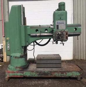 "(USED) RADIAL DRILLING MACHINE / MAS (TOS) 3.14"" / 600V"