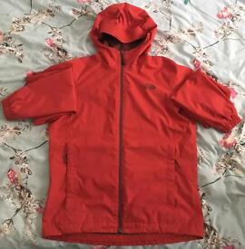 Men's North Face Hyvent waterproof jacket size S red