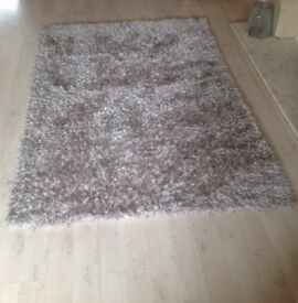 Next Rug - light mink colour