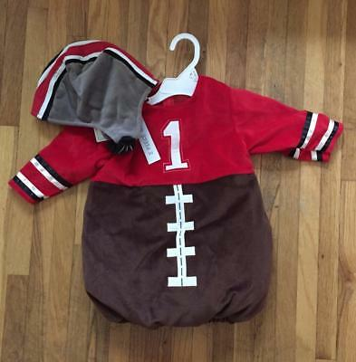 FOOTBALL Themed Costume ~ Infant 2 Piece Set Outfit ~ 6-9M  9-12M  12-18M  ~ NEW ()