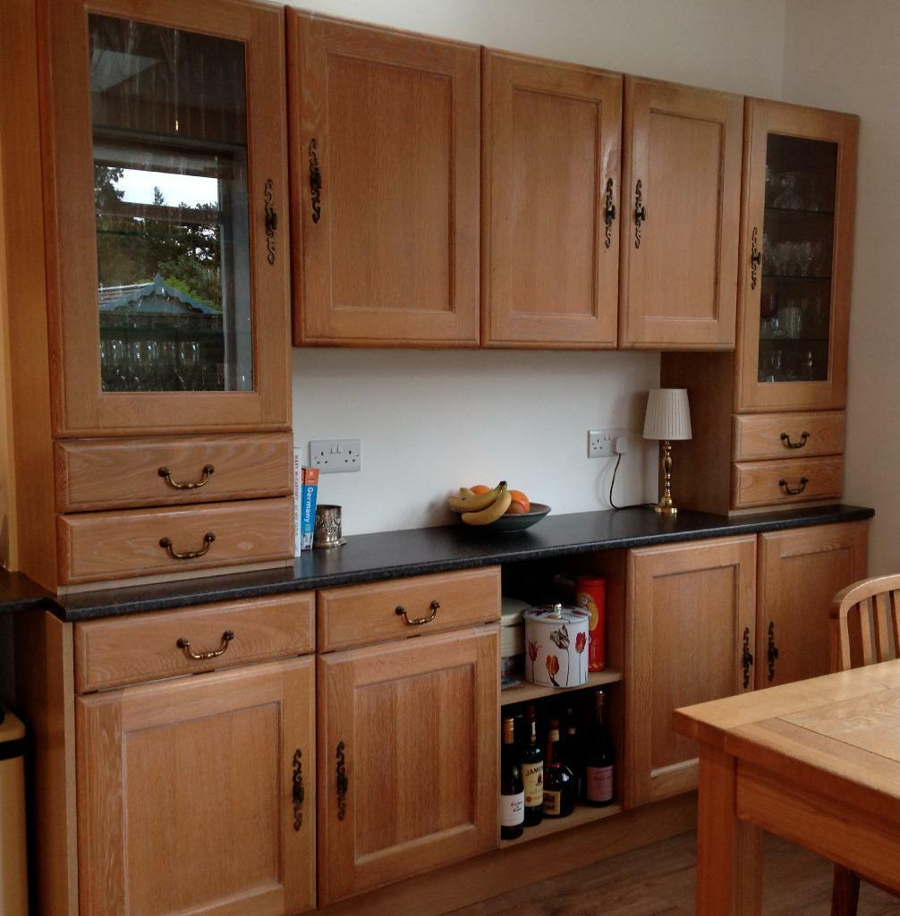 B Q Kitchen Cabinets Sale: B Q Oak Kitchen Units Including Buy, Sale And Trade Ads