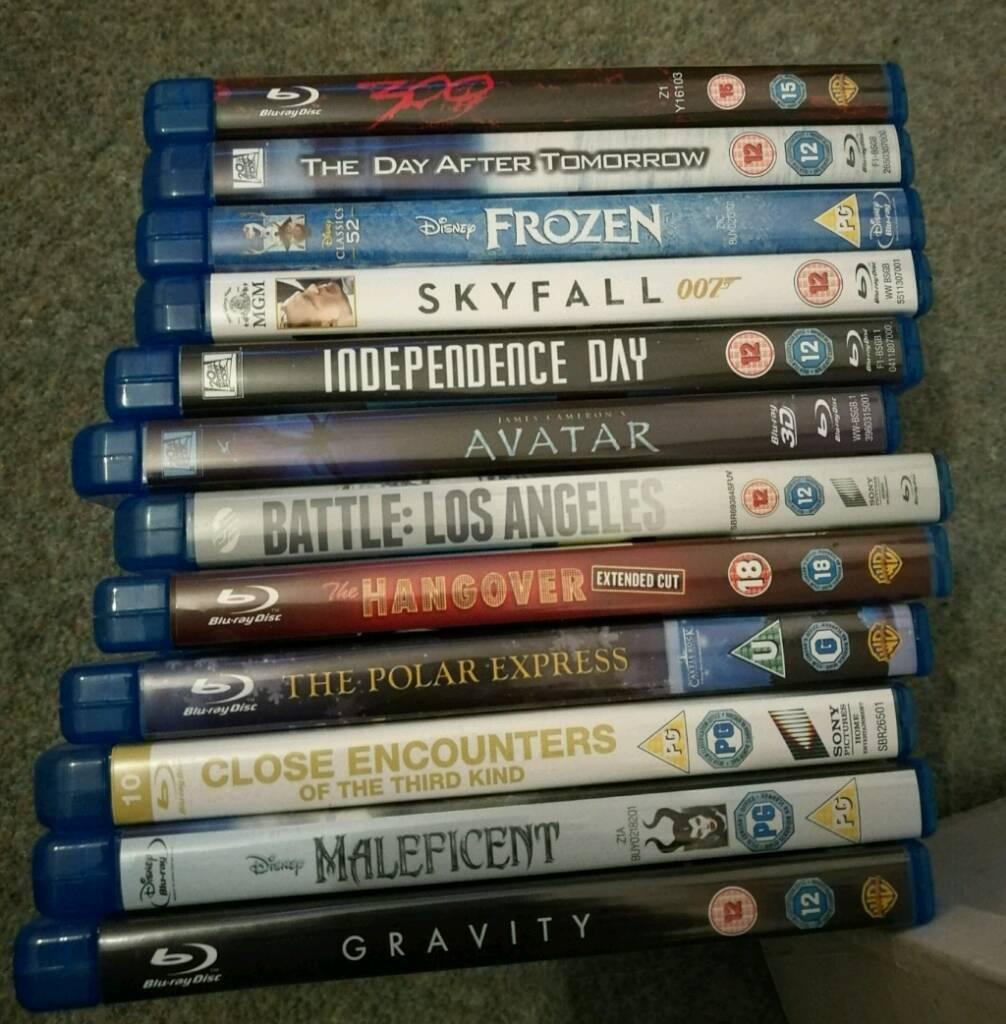 12 top blu ray films