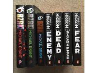 Teenage Fiction: 3 x Michael Grant, 4 x Charlie Higson