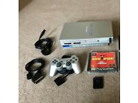 *Playstation 2 - Silver - Controller - Memory Card**