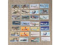 Various sets of tea or cigarette cards