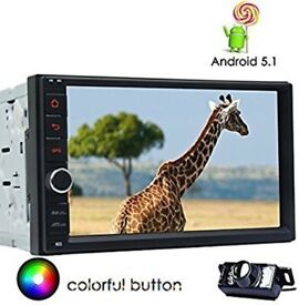 Android 5.1 Car Stereo double din gps