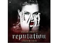 Taylor Swift Single Ticket London 22nd June