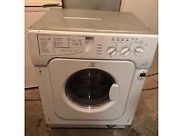 INDESIT IWDE126 Integrator Washer & Dryer Good Condition & Fully Working Order