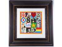 PETER BLAKE Some of the Sources of Pop Art V, 2007 - Silkscreen