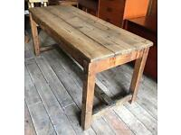 Pine Refectory Dining Kitchen Table
