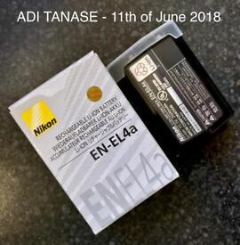 Genuine Nikon D3s Battery - EN-EL4a