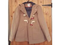Girls coat by NEXT, Size 9-10 (11-12) years.