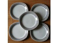 Swedish 1950's Plates Gefle
