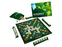 SCRABBLE BOARD GAME FAMILY LETTER CLASSIC GIFT WORD PUZZLE NEW ADULTS KIDS FREE PP £20