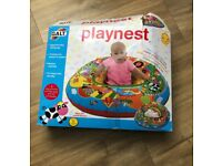 Free baby playnest