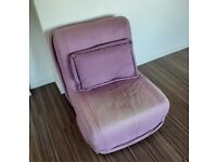 Chair that converts to a single pull down bed. Free of charge but must uplift