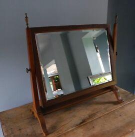Edwardian dressing table mirror