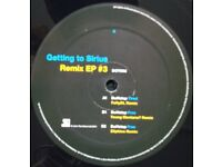 "Duffstep ‎– Getting To Sirius Remix EP #3 - 12"" Vinyl Record - Dubstep / 2011"