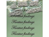jump rings silver plated or gold plated