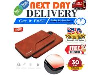 Samsung and iphone luxury genunie leather cases