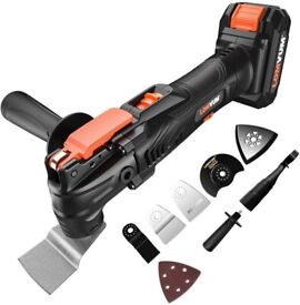 18v Cordless Multitool and 27 piece accessory kit NEW