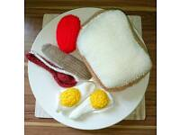 Knitted full english
