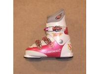 S/H Rossignol Comp J3 Junior Ski Boots Size 21 UK 2