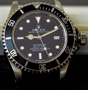 Rolex Sea Dweller Men's watch Ref 16600 highly collectable