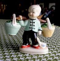 Japanese Water Boy Salt and Pepper Shaker Set