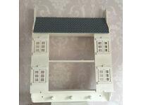 Wooden Dolls House Style Shelf Unit