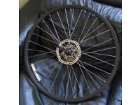 700c Racer/Road bike hybrid 28inch rear 10 speed disc rotor wheel