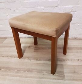G-plan Dressing Table Stool (DELIVERY AVAILABLE FOR THIS ITEM OF FURNITURE)